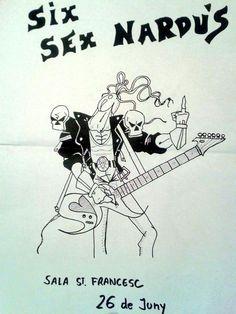 Six Sex Nardus. 20 years. #punk #viejunos #potlla