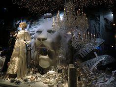 Christmas window, Galeries Lafayette - ATELIER RUE VERTE le blog