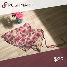 Wrap skirt from Ashville✨ Be a boss in this summer wrap🌊 will fit S-L dress it up girly girl with a lace 🔝 Nitin Skirts Midi