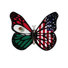 Mexican Flag Tattoos, Mexican Shirts, Mexican Flags, Mexican Art, Mexican American Flag, Pride Tattoo, Latino Art, Cute Couple Tattoos, American Tattoos