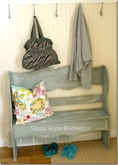 Yeah, I need to learn a bit more to help with some problem areas around the house! Painting with Annie Sloan paint. Sassy Style featured on Today