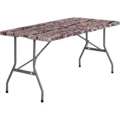 Waterproof convenient Camouflage Plastic #Folding_Table with carrying handle, Gray Powder Coated Locking Legs at just $72. Go to the store of Mallard Solutions: http://bit.ly/290vu2z