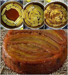 A Torta de Banana de Liquidificador é deliciosa, prática e econômica. Faça para o lanche ou a sobremesa da sua família! Veja Também: Torta Farofinha de Ban