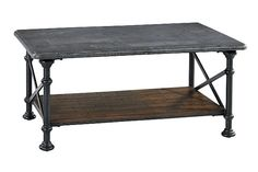Gray/Brown Tallenfield Coffee Table View 2