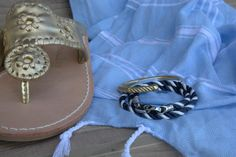 The Fid Cuff and Elsewhere Triple Rope Bracelet match perfectly with your favorite pair of sandals for the beach.  https://sailormadeusa.com/collections/womens-bracelets/products/fid-cuff