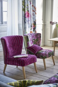 Designer Guild Julep low chairs                                                                                                                                                                                 More