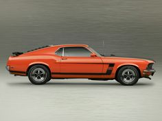 .1969 Mustang Boss 302 !