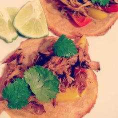 Pulled pork carnitas on baked plantains #whole30 #whole30lunch #whole30recipes