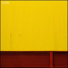 Red and yellow building facade - people need to be less scared of primary colors