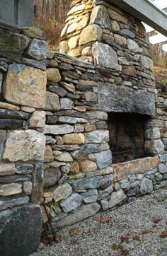 1000 Images About Stone Fireplaces On Pinterest Stone