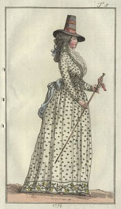 Journal des Luxus, February 1792.    And just FYI, I'm officially calling dibs on this one!