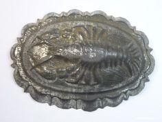 Vintage Baking Mold Lobster Tin Antique German 1910´S   eBay