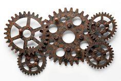 Perchero Vintage Gear   Material: Metal   ... Eur:57 / $75.81