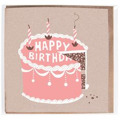 Hand printed card by Solitaire