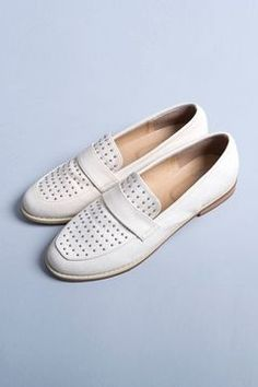 Studs loafer / ShopStyle: Million Carats スタッズモカシン