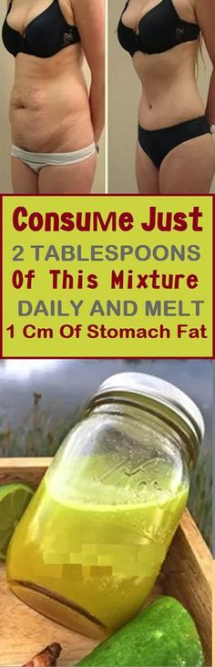 CONSUME JUST 2 TABLESPOONS OF THIS MIXTURE DAILY AND MELT 1 CM OF STOMACH FAT!! (RECIPE)