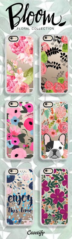 Already dreaming about #Spring. Shop these blooming designs here: https://www.casetify.com/artworks/k9JqU9Z7qX