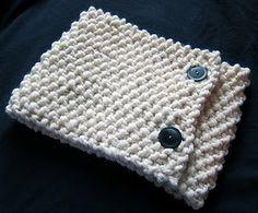 seed stitch neck warmer