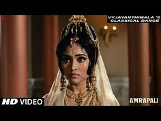 Indian Classical Dance | Amrapali  | Sunil Dutt, Vyjayanthimala | Shankar - Jaikishan - YouTube