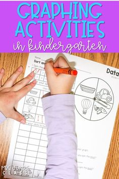 Your students will have fun learning with these engaging graphing activities. Small-group lesson plans and CPA activities to develop a deeper understanding of mathematics. #smallgroupmath #graphingactivities