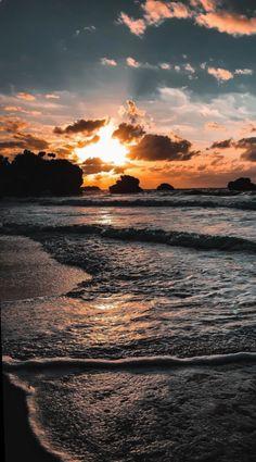 - Beach Sunset – – Beach Sunset – … – Sonnenuntergang am Strand - Beach Sunset Wallpaper, Ocean Wallpaper, Summer Wallpaper, Scenery Wallpaper, Sunset Beach, Beach Sunsets, Mobile Wallpaper, Wallpaper Backgrounds, Summer Sunset