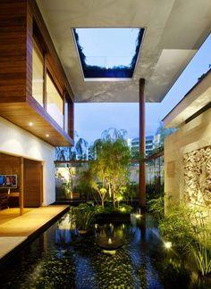 Architecture Durable, Architecture Design, Green Architecture, Building Architecture, Sections Architecture, Singapore Architecture, Modern Japanese Architecture, Building Homes, Sustainable Architecture