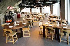 Rustic-look dining set at Fume restaurant Dubai.  #bali #balifurniture #cafe #cafefurniture #customfurniture #design #furniture #furniturebali #furnituredesign #furniturejepara #furnituremaker #instadaily #instagood #interior #interiordesign #jeparafurniture #kitchen #kitchenfurniture #picoftheday #restaurant #restaurantfurniture #tagforlikes #yunibali #fume #fumerestaurant #dubai #diningtable #diningchair