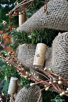 Making a wine cork ornament is so simple!