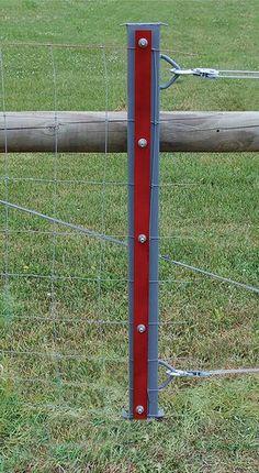 Sturdy Corner Posts Homesteading Farm Fence Field