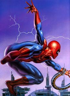 Boris Vallejo #Marvel #Spiderman