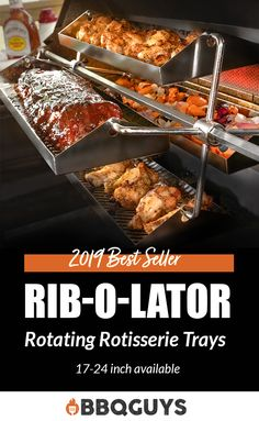 Online shopping for Smokers - Grills & Smokers from a great selection at Patio, Lawn & Garden Store. Grilling Recipes, Cooking Recipes, Bbq Equipment, Rotisserie Grill, Bbq Gifts, Four A Pizza, Smoked Ribs, Grill Accessories, Bbq Grill