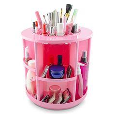 "VENKON - Make Up Organizzatore Scatola di Ordinamento per Stoccaggio di Cosmetici - Ruota di 360 Gradi - Rosa, http://www.amazon.it/dp/B010FV1YTY/ref=cm_sw_r_pi_awdl_feJNwbCEBC475<iframe src=""http://rcm-eu.amazon-adsystem.com/e/cm?t=pinterest050-21&o=29&p=8&l=as1&asins=B010FV1YTY&ref=tf_til&fc1=000000&IS2=1&lt1=_blank&m=amazon&lc1=0000FF&bc1=000000&bg1=FFFFFF&f=ifr"" style=""width:120px;height:240px;"" scrolling=""no"" marginwidth=""0"" maععrginheight=""0"" frameborder=""0""></iframe>"