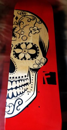 Sugar Skull Skateboard Deck | Failed Skateboards | 2012