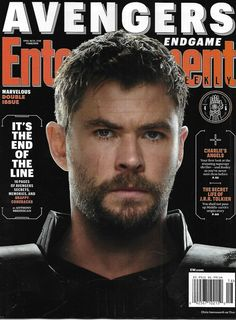 Entertainment Weekly Magazine The Avengers Endgame Thor Cover Tolkein Lizzo 2019