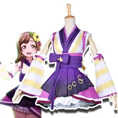 2017 New Style Anime LoveLive! Sunshine!! Hanamaru Kunikida Cosplay Costumes
