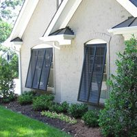 I want Bermuda Shutters on the Garage windows!