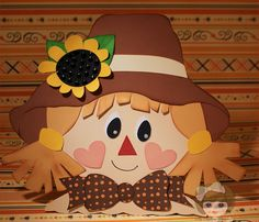 My Crafting Channel: Mr & Mrs Scarecrow Wall Hanging