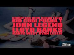 "Kanye West- ""Christian Dior Denim Flow"" Ft. Kid Cudi, Pusha T, John Legend, Lloyd Banks & Ryan"