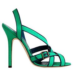 Manolo Blahnik Spring-Summer 2012 Shoes