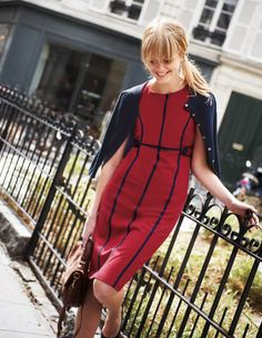 Holborn Dress WQ065 Day Dresses at Boden