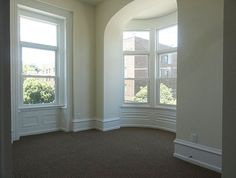 Bright, spacious rooms with individual character. A sample from our building at 1437-39 N. 15th St. See more at www.universityrealtyapartments.com.