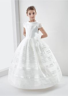 First Communion Dress With Beading
