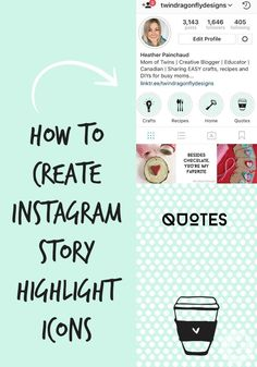 How To Create Instagram Story Highlight Icons