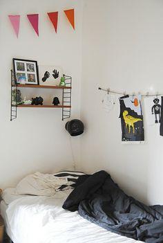Love this boys room.  Kids Room by Kenziepoo, via Flickr