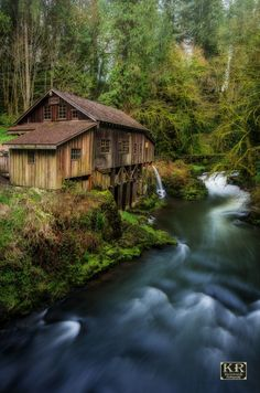 Cedar Grist Mill by Kevin Russell on 500px