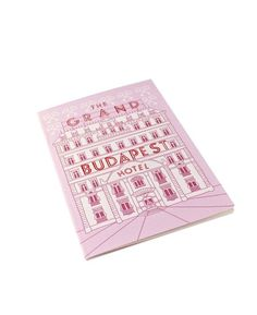 Grand Budapest Hotel Notebook Set