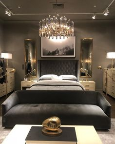Luxury Bedroom Design, Master Bedroom Interior, Small Room Bedroom, Home Decor Bedroom, Interior Design, Small Rooms, Luxurious Bedrooms, My New Room, Fan Fiction
