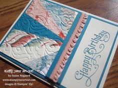 Stampin' Up!® Starburst Birthday Card - Stamp Your Art Out!