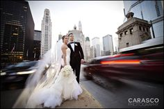 Liz and Joey's Wedding at The Drake Hotel Michigan Avenue  Chicago Wedding Photographer http://www.carascophoto.com