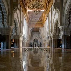 King Hassan II Mosque in Casablanca - Photo by Peter Sanders